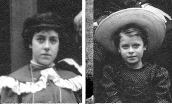 Ivy and Daphne c 1905