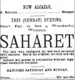 San Franciso Examiner March 1894