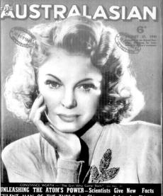 Australasian Cover August 25, 1945