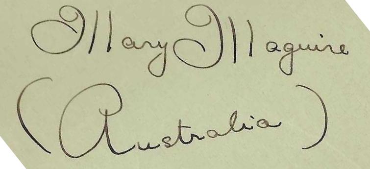 MM signature