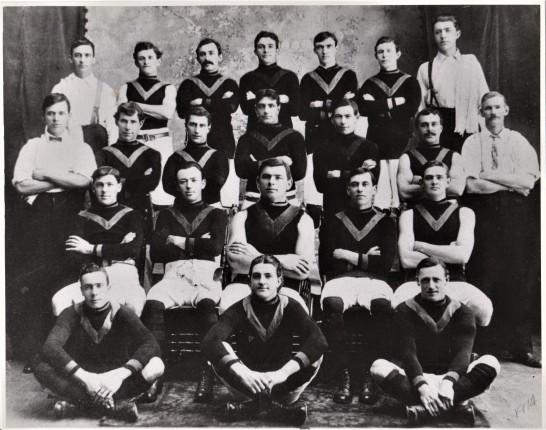 Sunshine-Braybrook Football Club c 1914 William sitting right