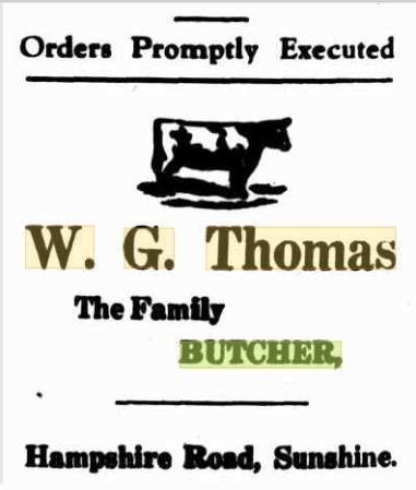 W G THomas Jun 9 1928 Sunshine advocate