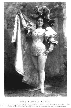 Florrie Forde Melbourne Punch August 24 1898
