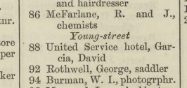 Sands Directory 1875