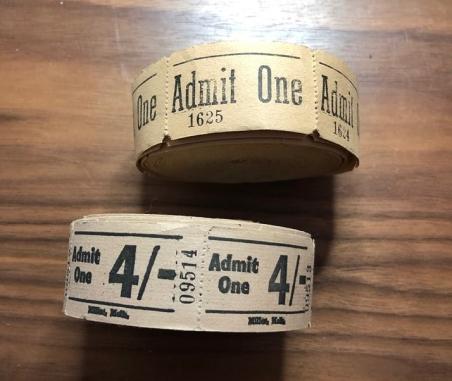 Unused tickets