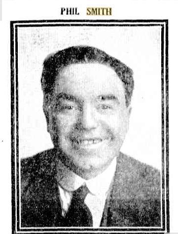 Phil SMith 1918