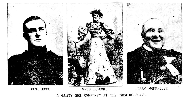 Gaiety Company 1895