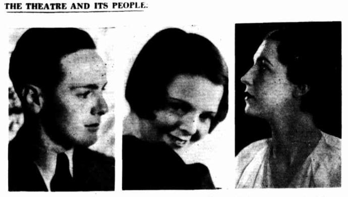 John and Mona Table Talk 1933