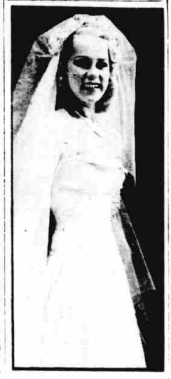 Northern Whig 1949 Wedding Photo