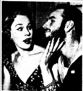 Patti and Jim Morgan in 1953