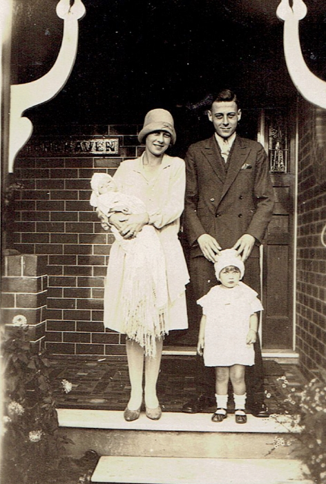 Fred and sister 1929