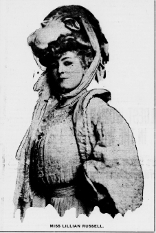 Lillian in The Evening Statesman Washington, May 20, 1907
