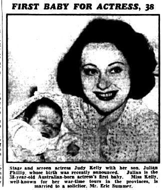 Judy Kelly Birmingham Gazette May 31 1952