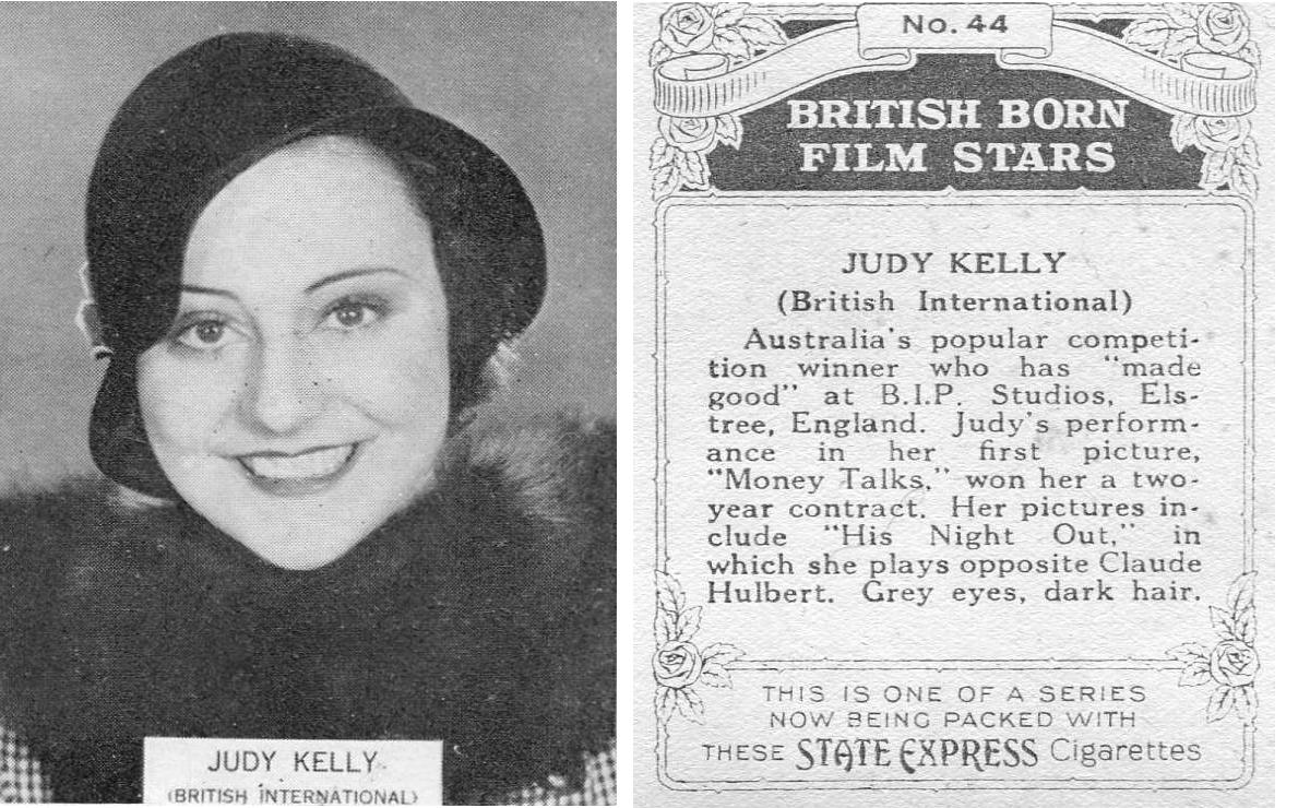 Judy Kelly British!