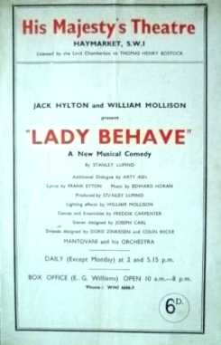 Lady Behave