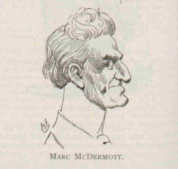 Mcdermott drawn by Harry furniss 1913