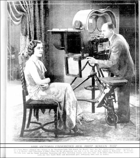 1933 being filmed