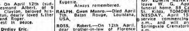 Melbourne Age 1 April 1970