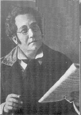 John Ralston as Schubert