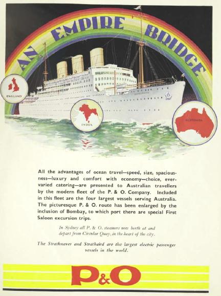 P&O Ad 1932
