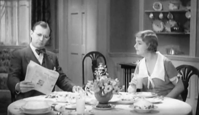 Skippy 1931, Breakfast scene