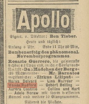 The Fatherland Nov 16 1905