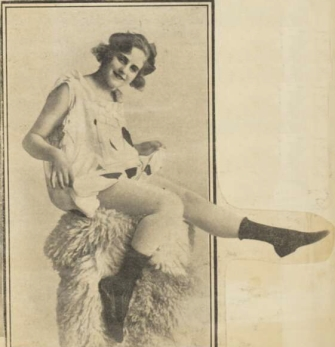 Belle Leichner c 1920