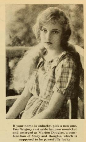 Ena Marion Photoplay 1927