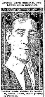 Freddie in 1922