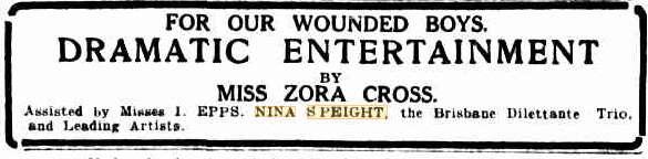 Nina in 1915