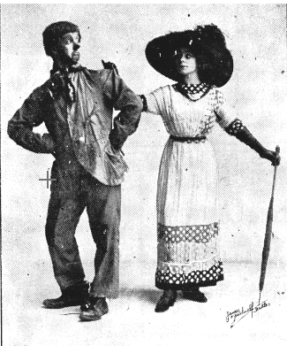 Teddie and Queenie Williams in 1916