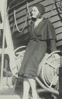 Carol on her way to UK 1930